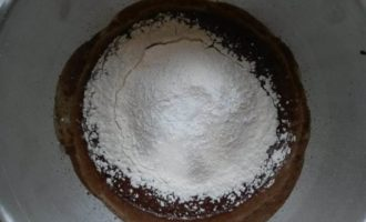 Пирог с ликером Baileys