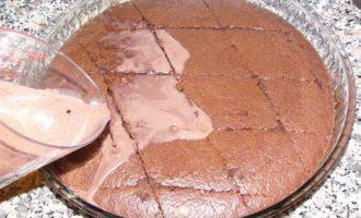 Влажный кекс с какао