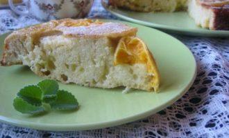 Цитрусовый пирог-перевертыш