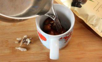 Смузи из фиников и овсяного молока