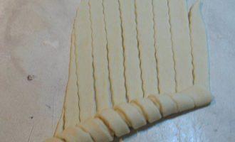 Красивые булочки, способ формировки