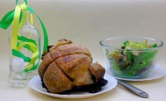 Свинина с черносливом в гранатовом соусе