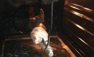 Кролик-гриль в духовке