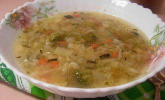 Легкий суп минестроне