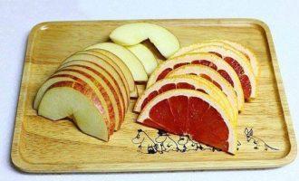 Глинтвейн с грейпфрутом и яблоком