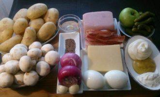 Швабский картофельный салат