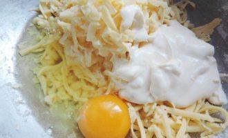 Творожный пирог с брокколи и сырной начинкой