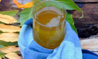 Можжевелово-облепиховый чай с изюмом