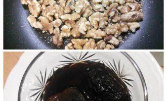 Говяжий рулет с черносливом и грецким орехом
