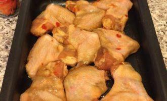 Куриные крылышки в соусе чили