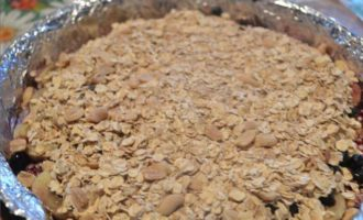 Овсяный пирог без муки и сахара