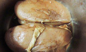 Копченая куриная грудка в домашних условиях