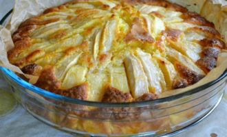 Итальянский деревенский яблочный пирог