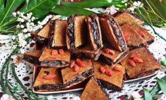 Ржаное пирожное постное