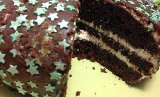"""Звездный торт """"Орео"""""""