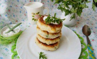 Сырники закусочные с кукурузой
