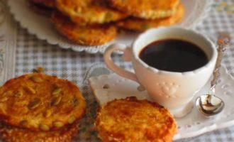 Сырное печенье с горгонзолой