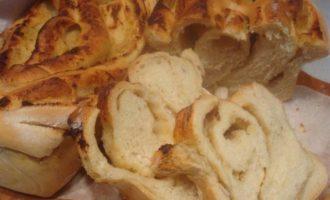 Хлеб с картофельным пюре