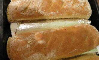 Пшенично-ржаные буханочки с творогом