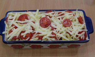 Макаронная запеканка с фасолью