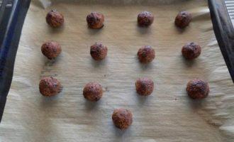 Запеченные шарики-конфеты