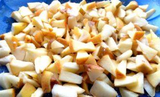 Яблочно-грушевый тарт Татен