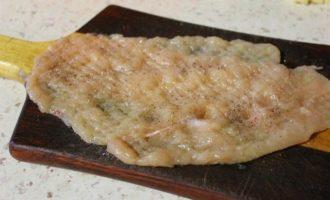 Котлеты по-киевски с сыром и маслом