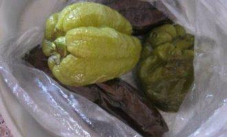 Дип из запеченных баклажанов и перца