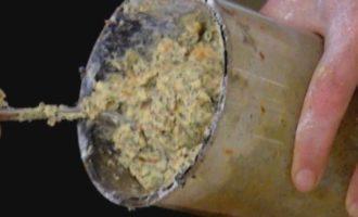 Цитрусовый кекс с маком и миндалем