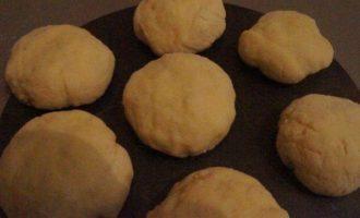 Бездрожжевые ванильные булочки с шоколадом