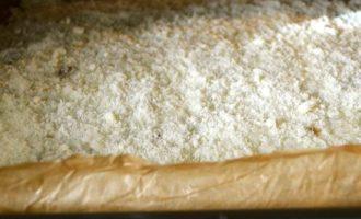 Рисовая лепешка, фаршированная грибами