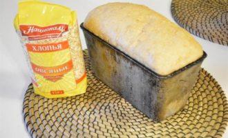 Цельнозерновой хлеб с медом и овсяными хлопьями