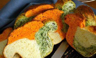 Трехцветный хлебушек