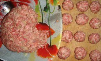 Шведские мясные шарики, фрикадельки