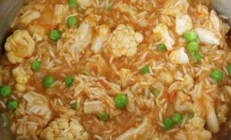 Карри из курицы с рисом