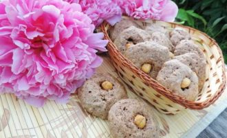 Шоколадно-ореховое печенье, без муки