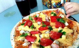 Пицца-бутерброд