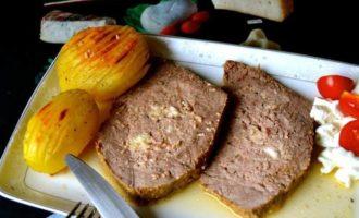 """Спиначино, фаршированный мясной """"карман"""""""