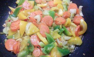 Весёлый кускус с овощами