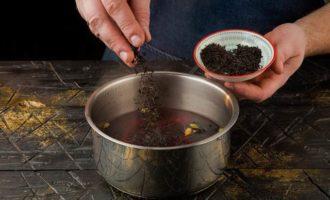 Осенний согревающий чай