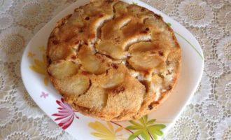 Быстрый яблочный кекс