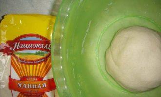 Хлеб на манной крупе