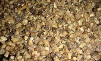 Кеббе с сырно-грибной начинкой