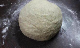 Пшенично-ржаной хлеб с картофелем и сыром