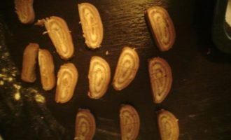 Спирали шоколадно-лимонные