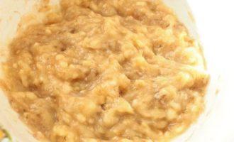 Банановые кексы со сливочным сыром и йогуртом
