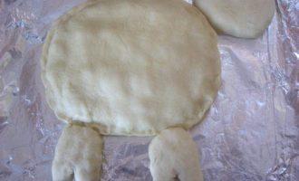 """Дрожжевой пирог """"Гламурная овечка"""""""