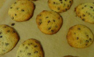 Шоколадное печенье на маскарпоне