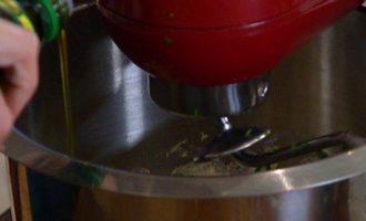 Лепешка с имбирем, чили и кинзой