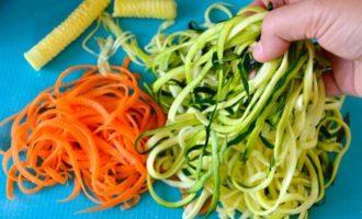 """Овощные """"Спагетти"""""""